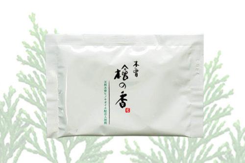 入浴剤-ヒノキの香り