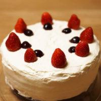 バースデーケーキ - 手作り