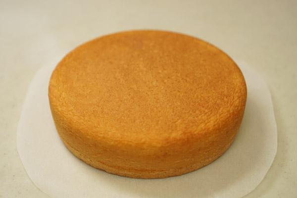 手作りケーキ - スポンジ