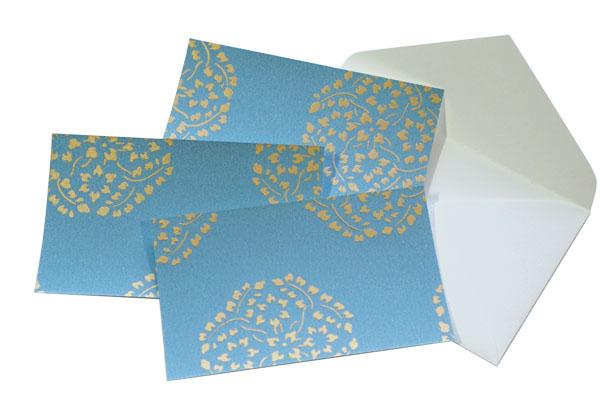 江戸からかみカードと封筒