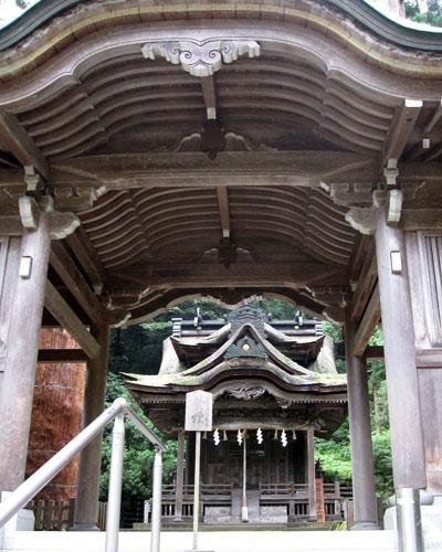 岡太神社-大瀧神社 拝殿