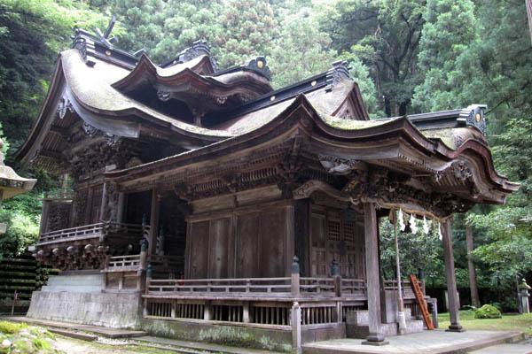 岡太神社-大瀧 神社