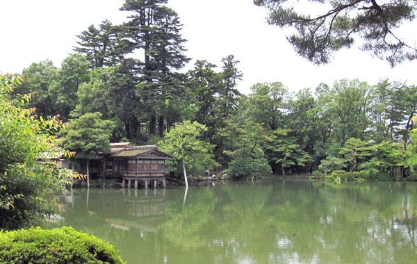 兼六園-霞ケ池