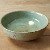 陶芸-黄瀬戸釉薬の中鉢
