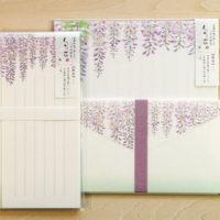 レターセット-藤の花