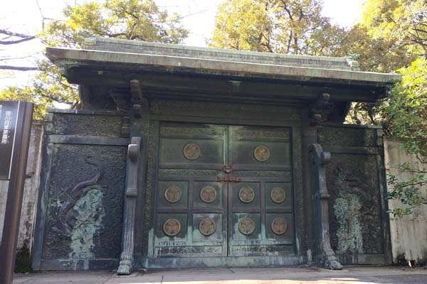 増上寺-徳川墓所-門