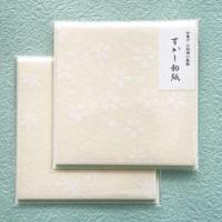 透かし和紙の敷き紙_桜ともみじ
