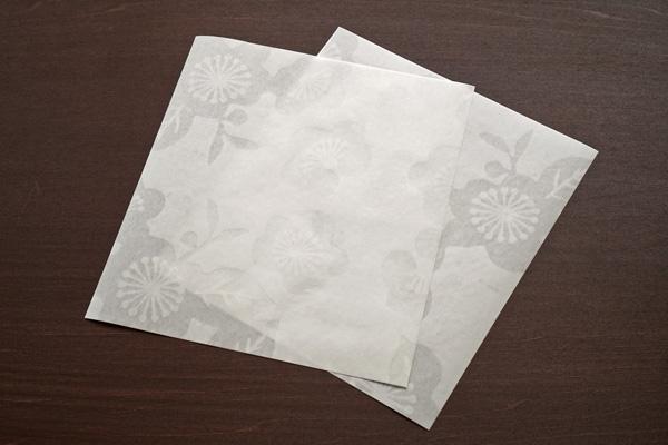 梅の花-透かし和紙 便箋