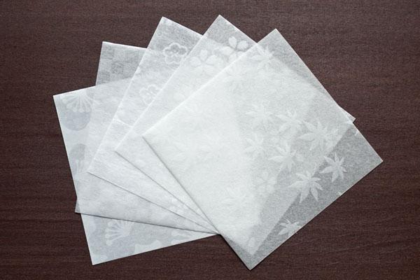 透かし和紙-敷き紙