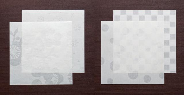 折り紙 - 透かし柄