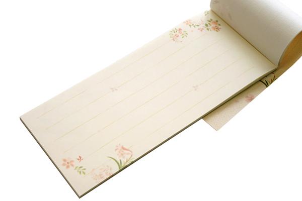和紙 一筆箋-小さい花